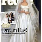 Vestidos de noiva de famosas: Angelina Jolie