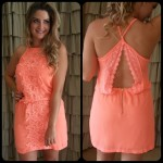 Look do dia: Vestido solto coral!