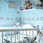 Dicas de papéis de parede para quartos de bebê