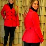Look do dia: Casaco vermelho + legging montaria